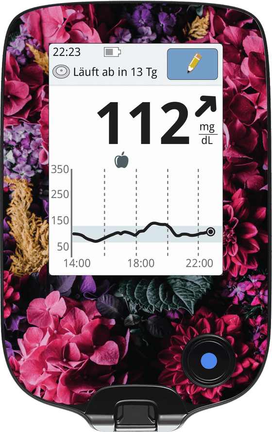 Image of Hydrangea Blossoms Screen Protector