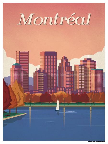 Image of Montréal Poster