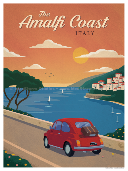 Image of Amalfi Coast Poster