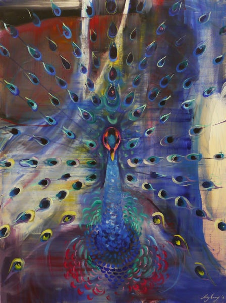 Image of Pete the Peacock