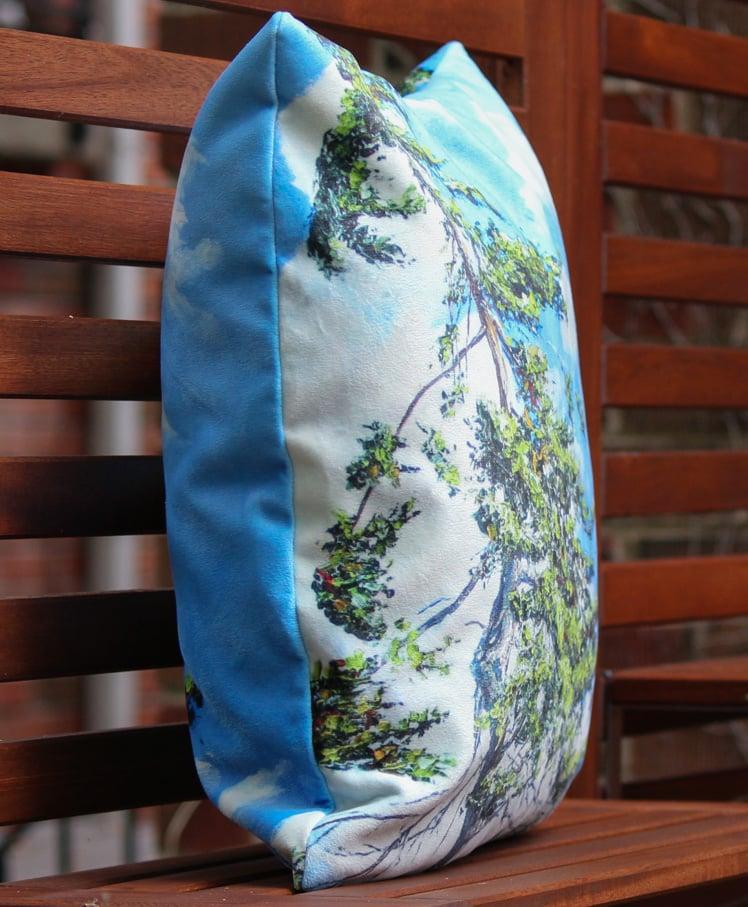 Image of - Treetop Pillow -