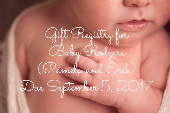 Image of Gift Registry for Baby Rodgers