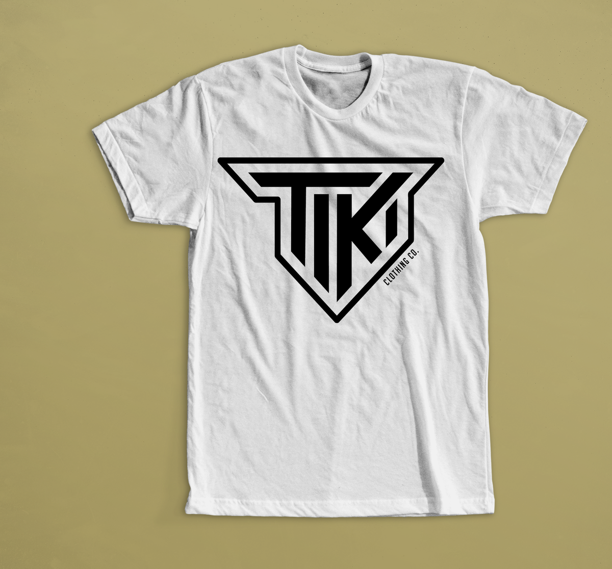 Image of Tiki Clothing Co Crest Shield Tee