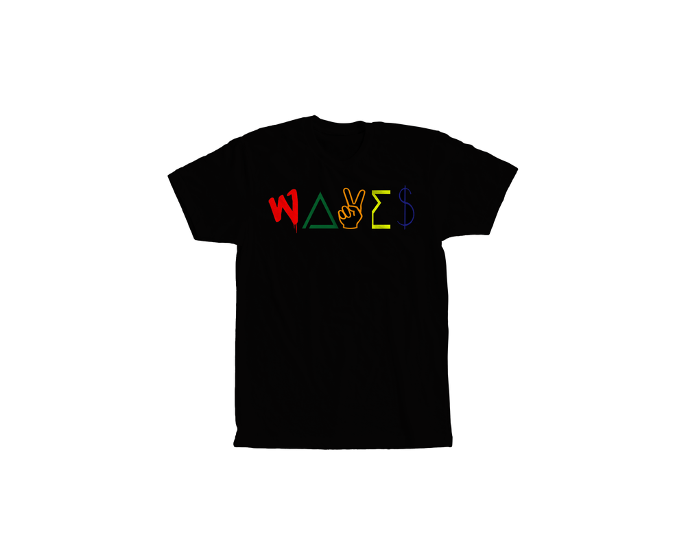 Image of WAVES CLASSIC TEE(Black)