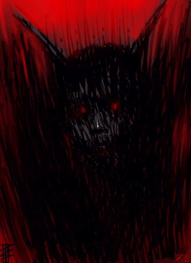 Image of Demon 3 joint art with Dominic Hailstone