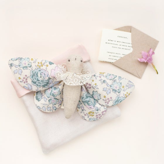 Image of Madame Papillon (Blue & Violet Floral)