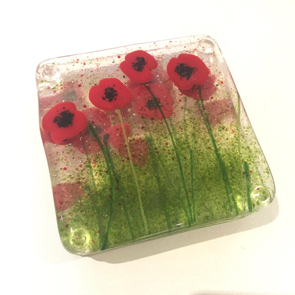 Image of Poppy Art Coasters