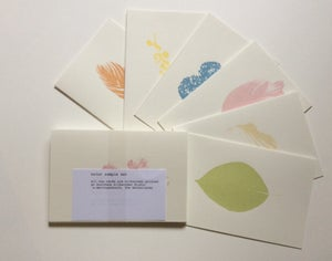 Image of Plant based edible/non-toxic ink silkscreen samples