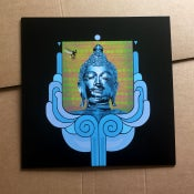 Image of EARTHLING SOCIETY 'Ascent To Godhead' Blue Vinyl LP