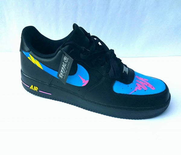 Image of SKRBBL Custom Work AF1 Pattern #2