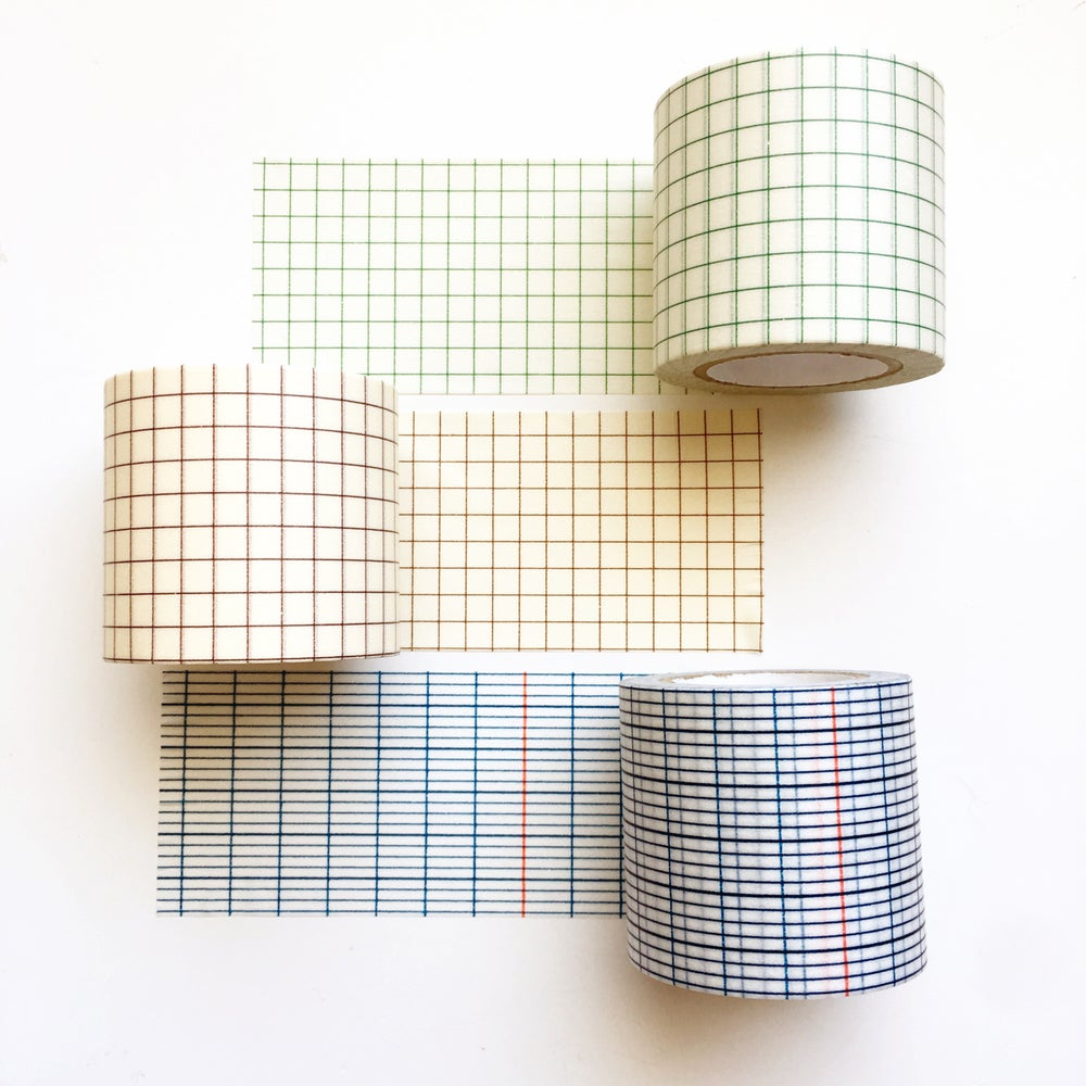 Image of Classiky Grid Washi Tape 45mm