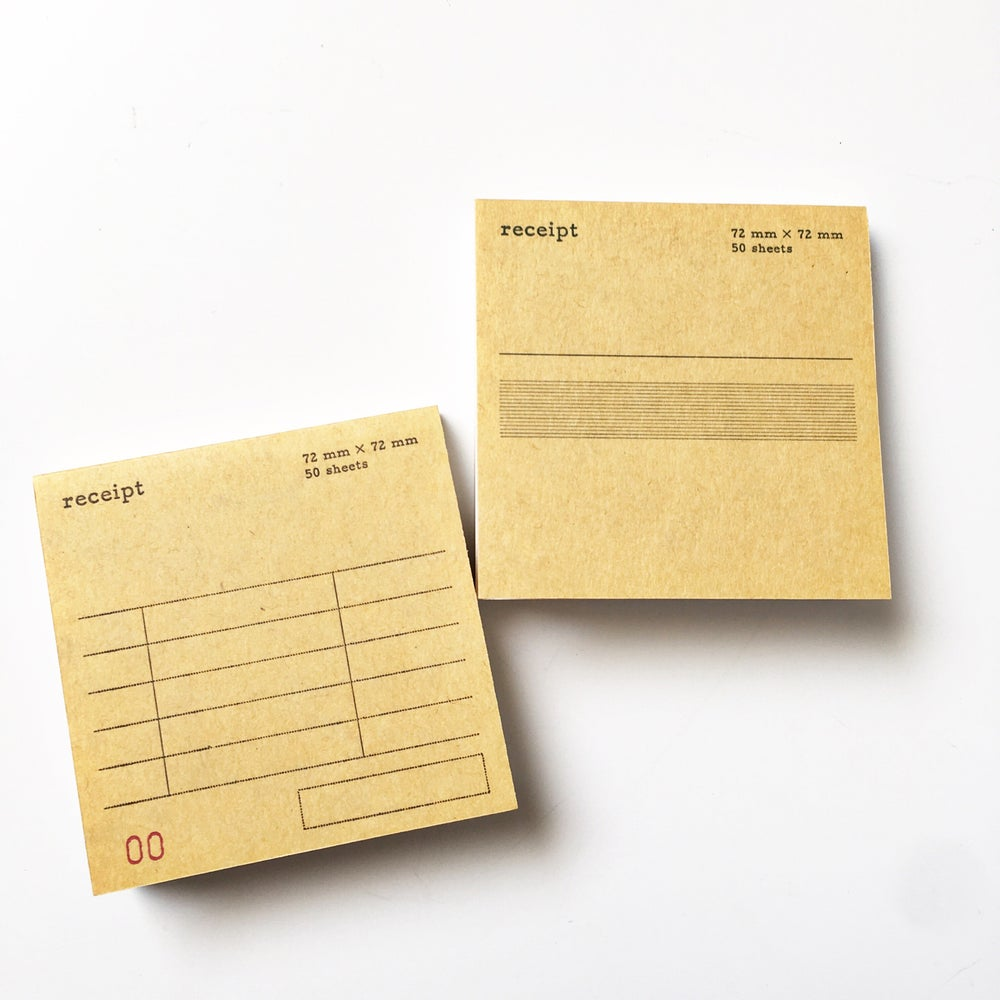 Image of Classiky Receipt Pad