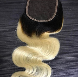 Image of 1B / 613 Blonde closure