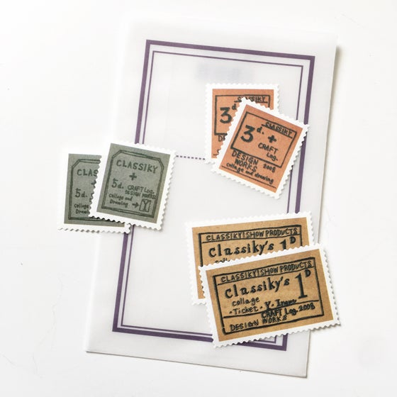 Image of Classiky Craft Log Stamp Seal