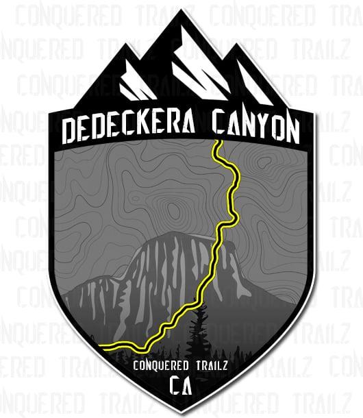 "Image of ""Dedeckera Canyon"" Trail Badge"
