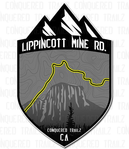 "Image of ""Lippincott Mine"" Trail Badge"