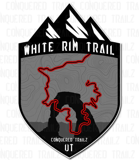 "Image of ""White Rim"" Trail Badge"