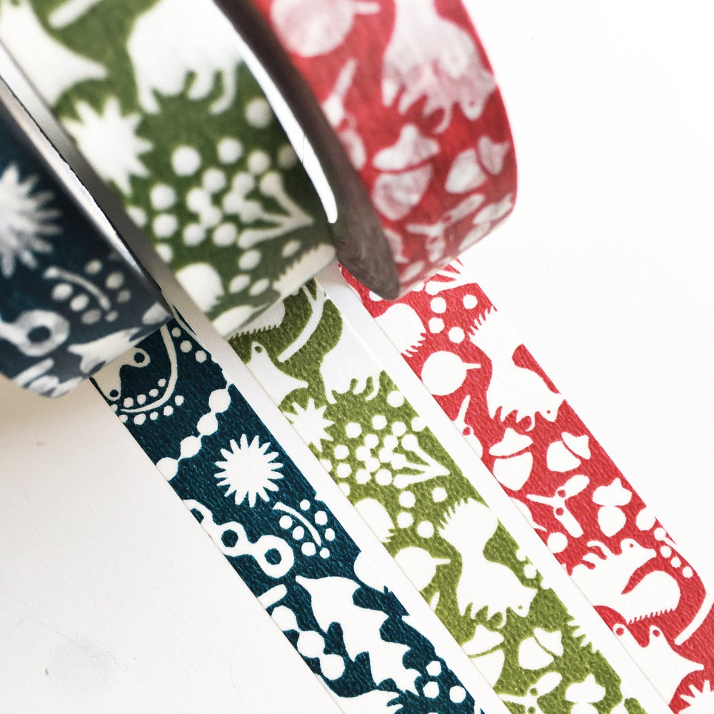 Image of Classiky Forest of Squirrel Washi Tape