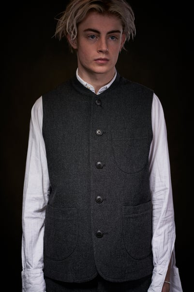Image of Clayton Gilet - Charcoal £165.00