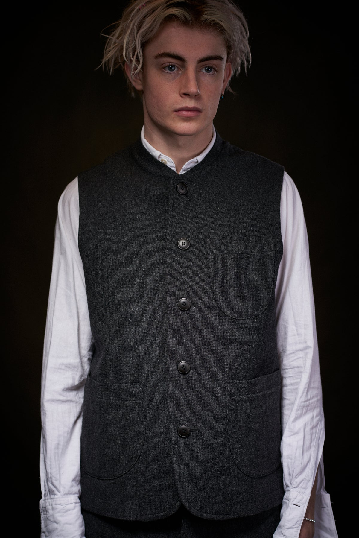 Image of Clayton Gilet - Charcoal £165.00