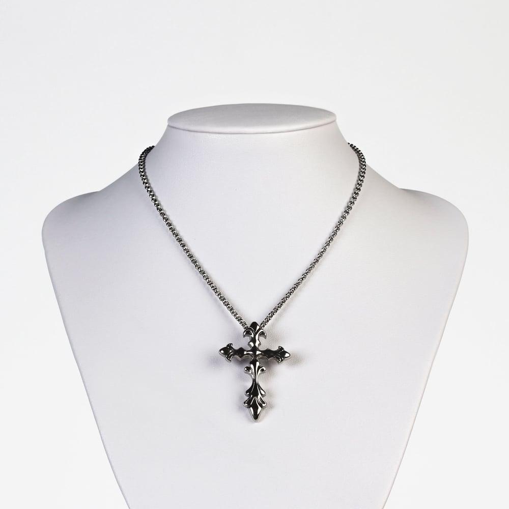 Image of ZINNIA | Cross Necklace
