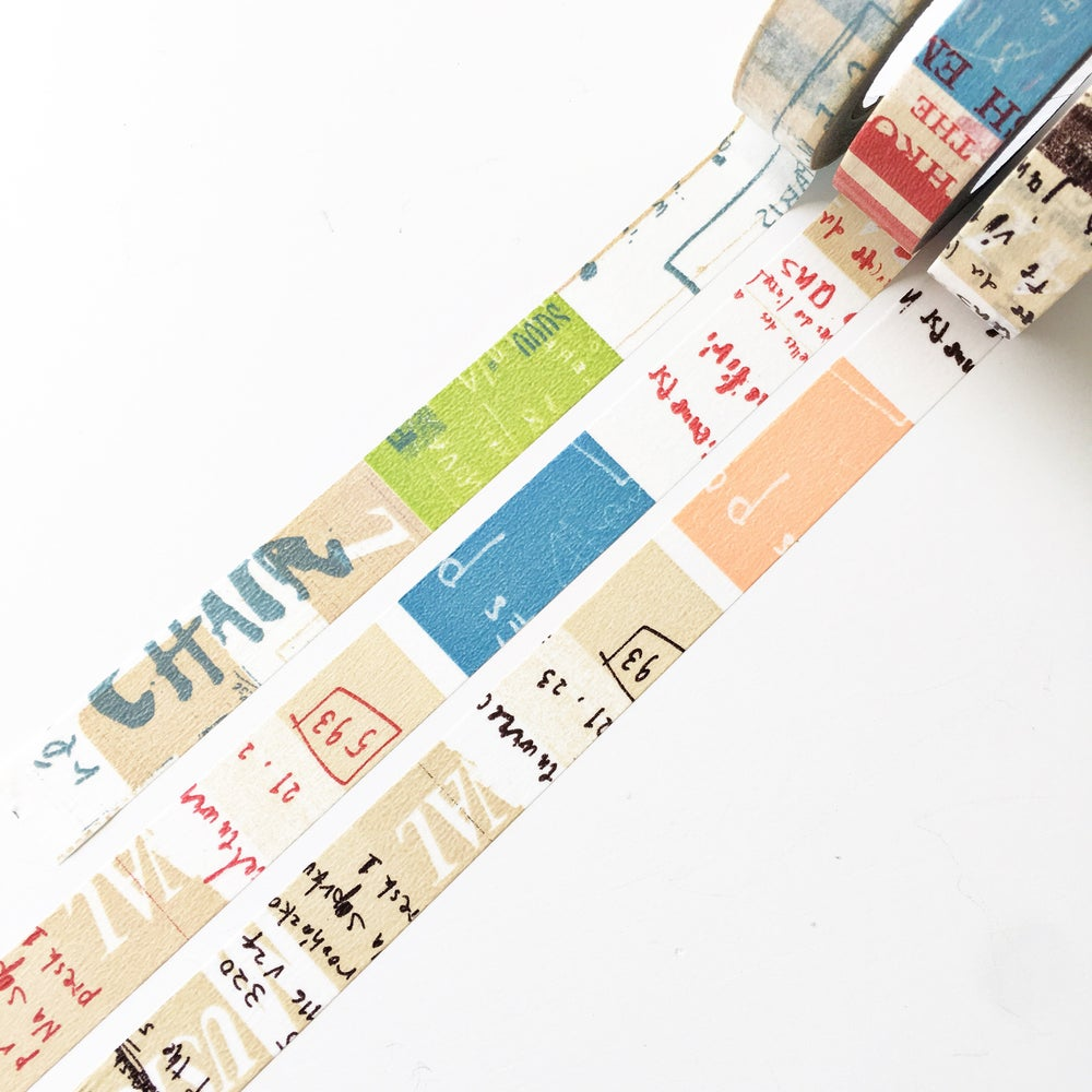 Image of Classiky Graffiti A Washi Tape