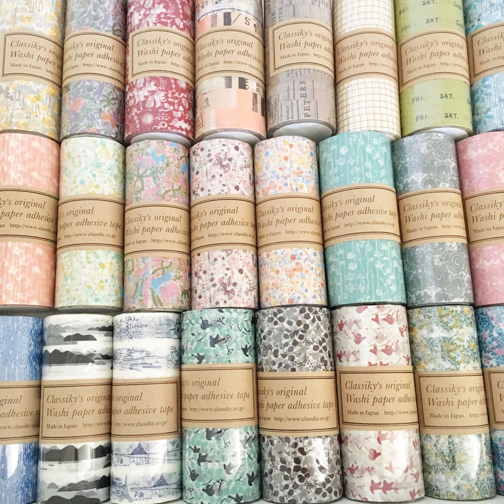 Image of Classiky Graffiti B Washi Tape