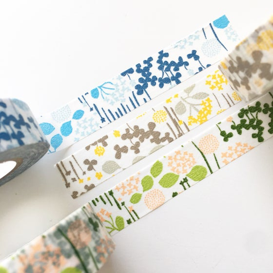 Image of Classiky Little Garden Washi Tape
