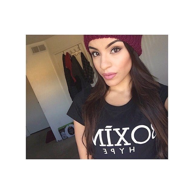 Image of Womens BoxingHype crewneck tees (2 colors)