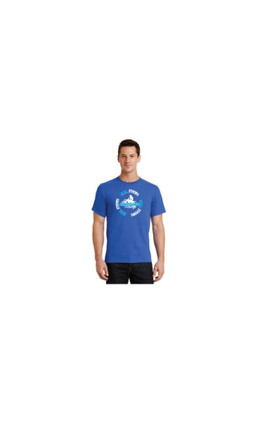 Image of Head Strong, Mind Strong, Body Strong - Shirt, Blue