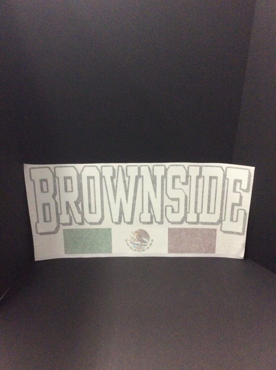 Image of Brownside Large Decal Sticker