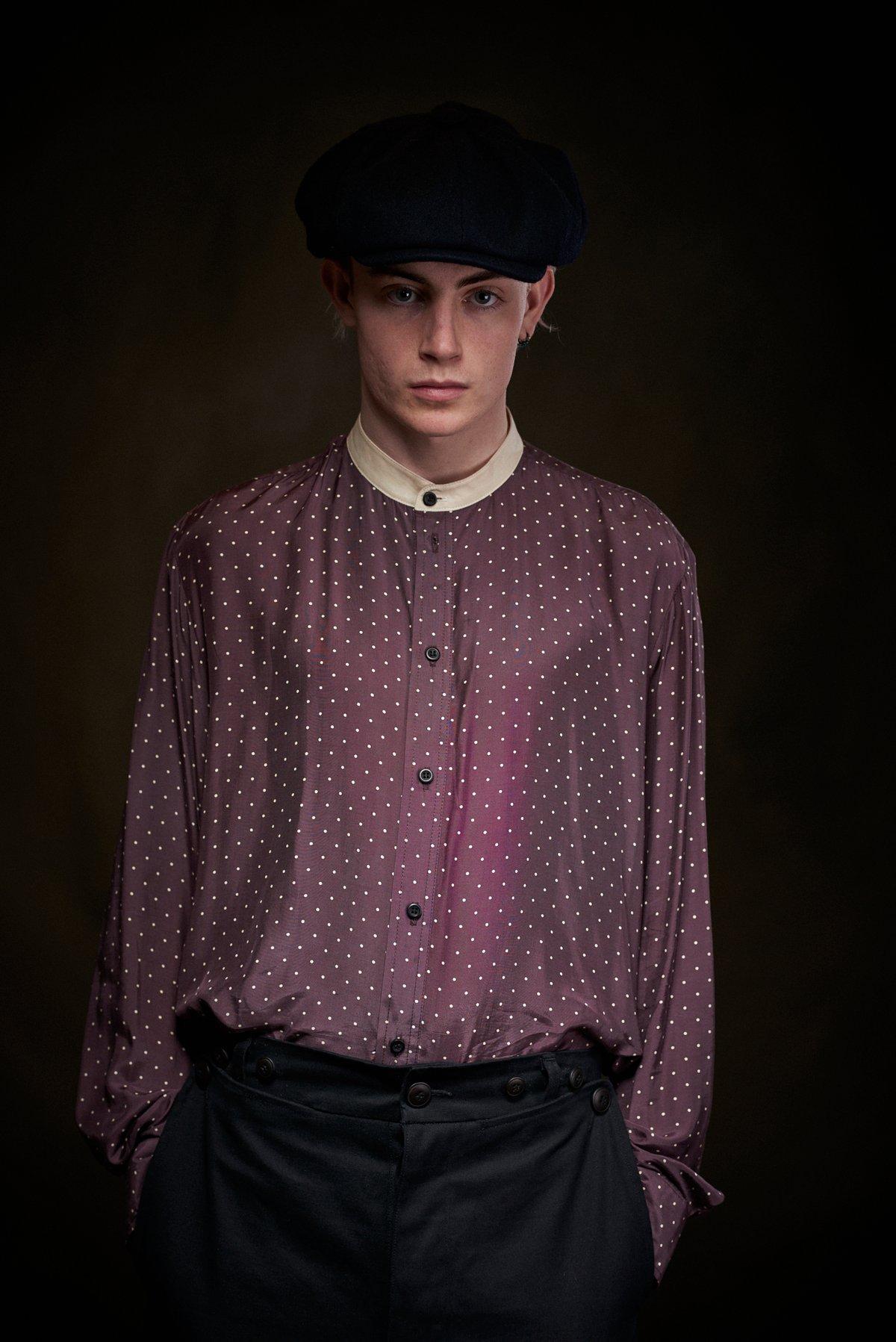 Image of Marley Spotty Shirt £175.00