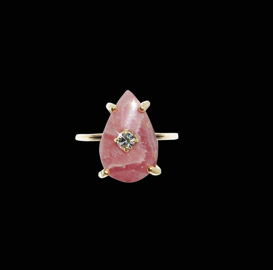 Image of Rhodochrosite Ring