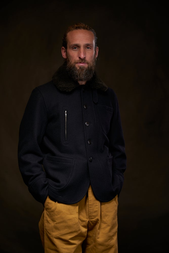 Image of Docker Coat Wool £360.00