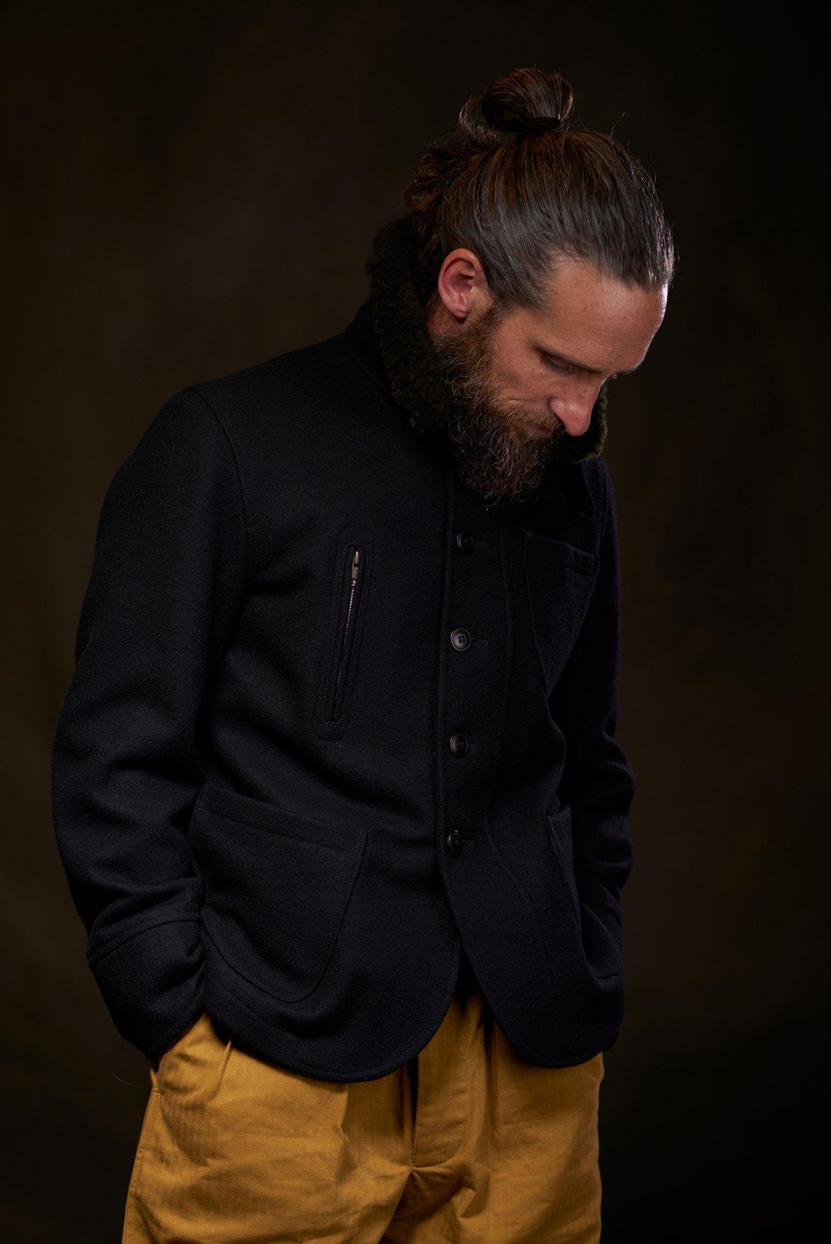 Image of Docker Coat Wool £360.00
