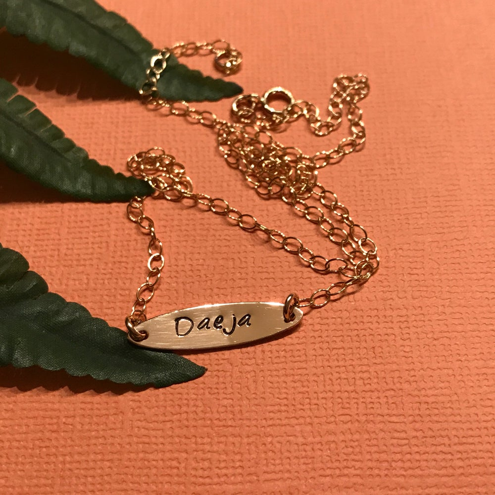 Image of What's Yo Name? (Custom Nameplate) Necklace