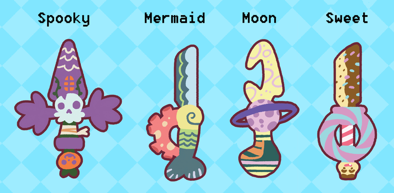 Image of Tiny Swords Charms