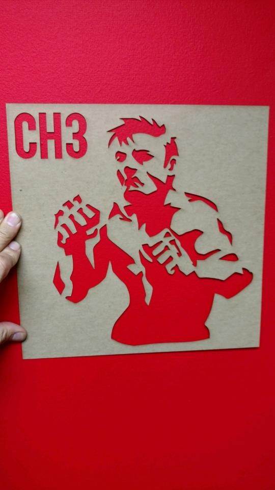 "Image of Put 'Em Up Color Vinyl Album Red Vinyl with 12"" Stencil"