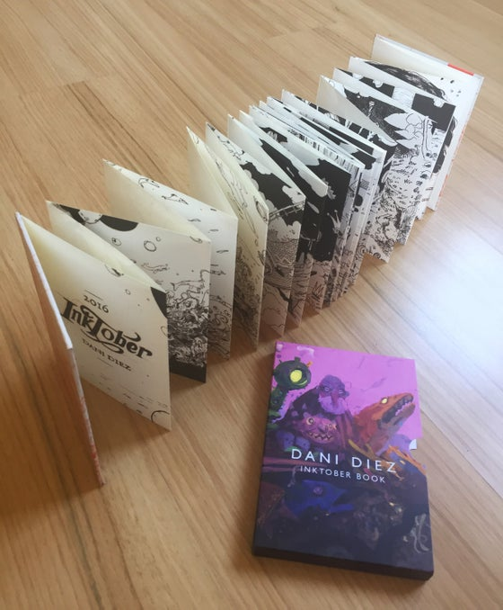 Image of Dani Diez's Inktober Book