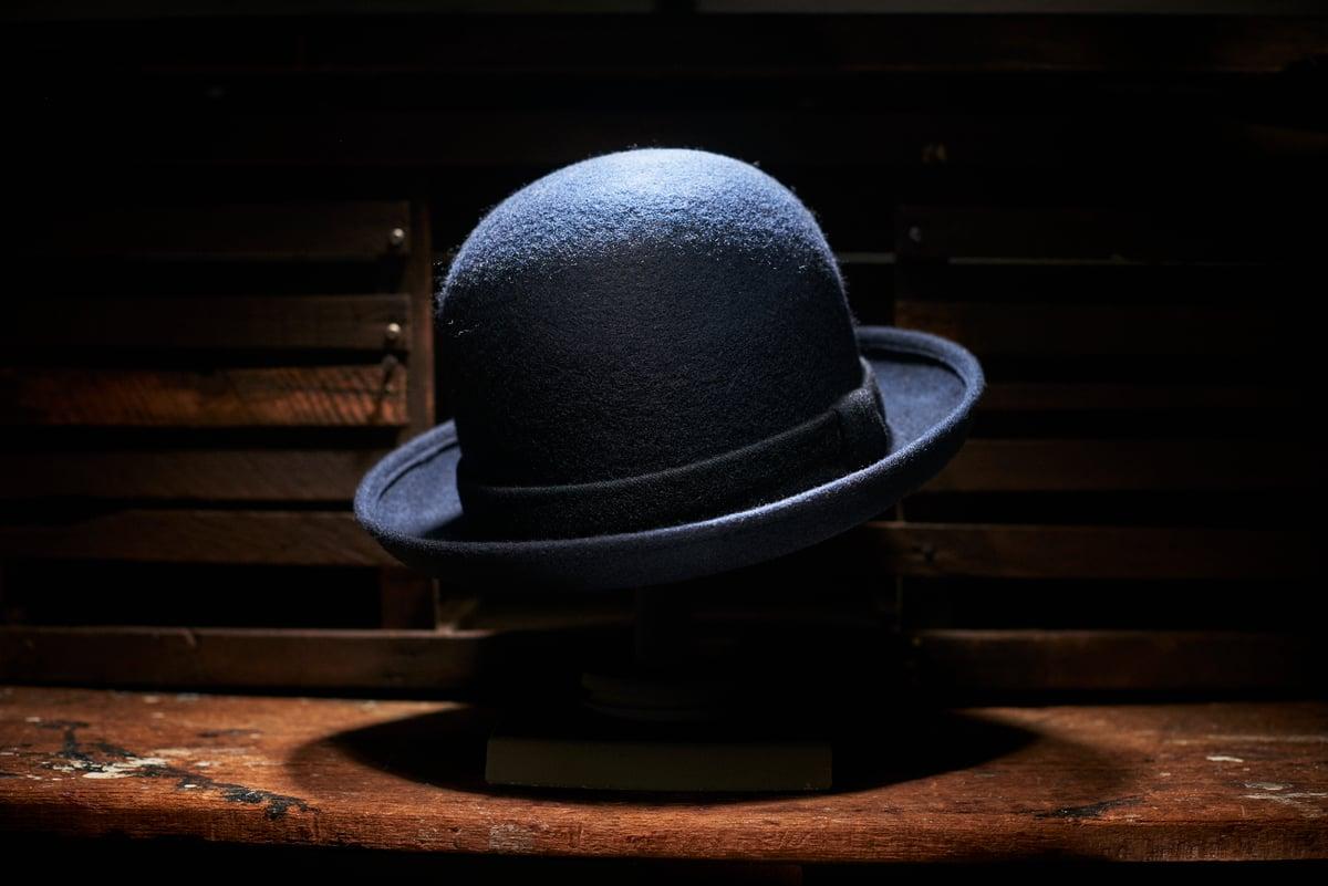 Image of Chicken George Hat - Navy £155.00