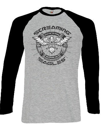 Image of MEN'S LONGSLEEVE BASEBALL SHIRT - Limited sizes left