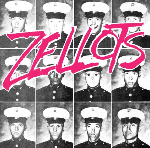 "Image of ZELLOTS - s/t Deluxe Flexi 7"" (1979) *NEW RELEASE*"