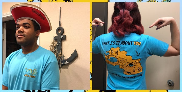 """Image of """"In Search of Gold"""" Treasure Tee"""