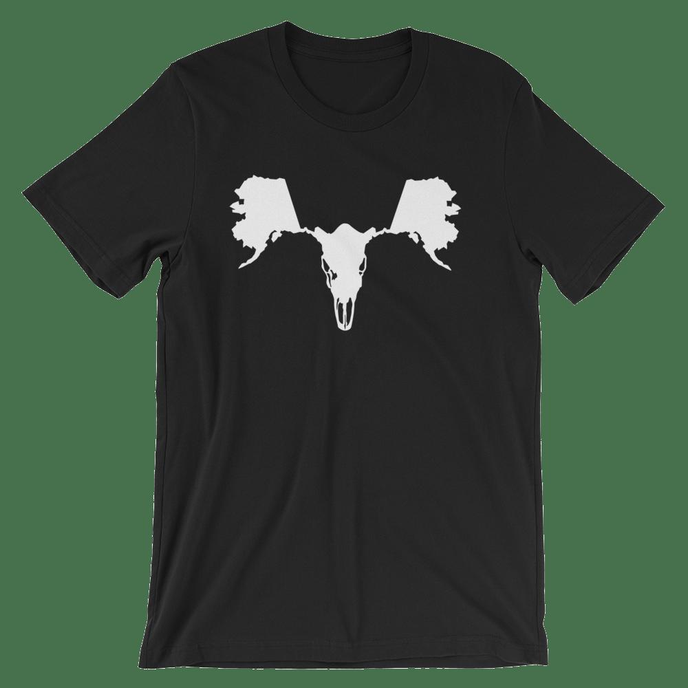 Image of Men's AK Moose Skull - Black