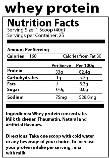 Image of Vanilla Protein