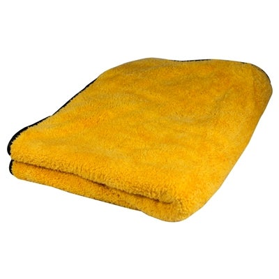 Image of Big Orange Microfiber Drying Towel 36x25