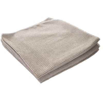 Image of Platinum Waffle Weave Microfiber Drying Towel 25x36