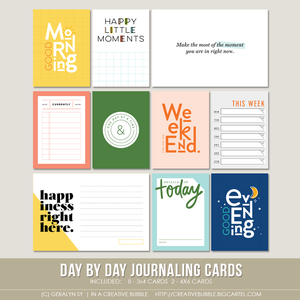 Image of Day by Day Journaling Cards (Digital)