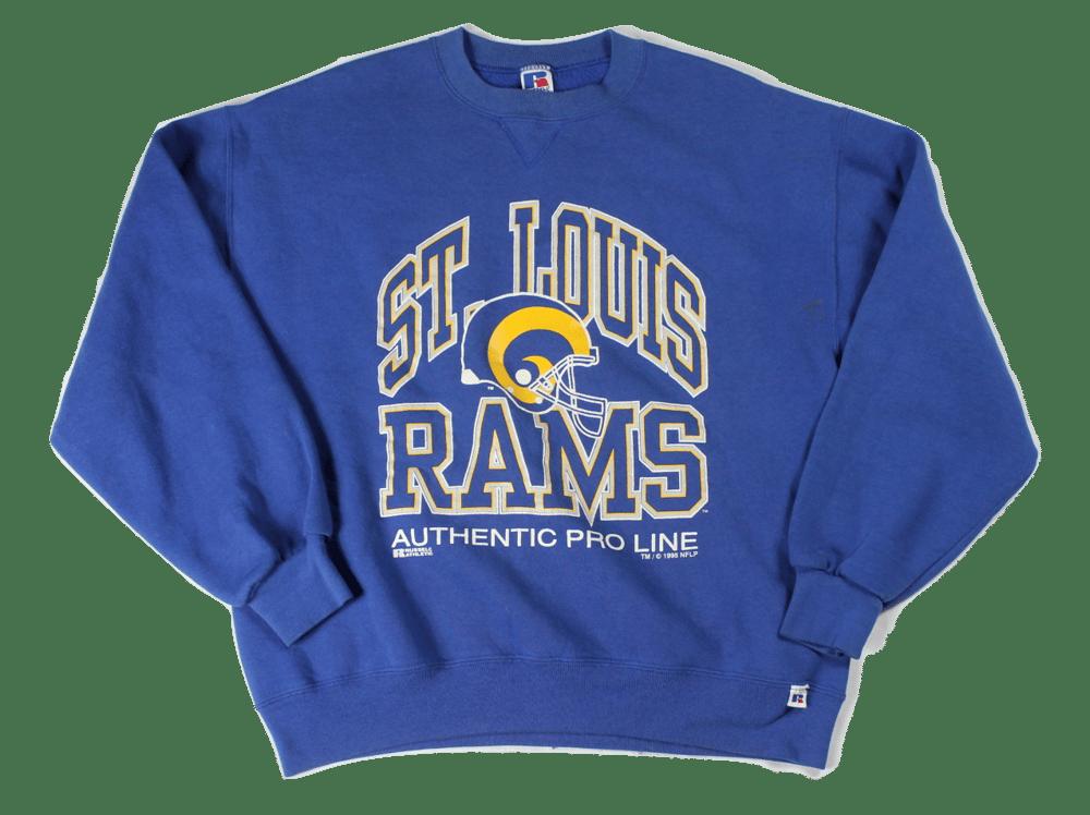Image of Vintage St. Louis Rams sweatshirt
