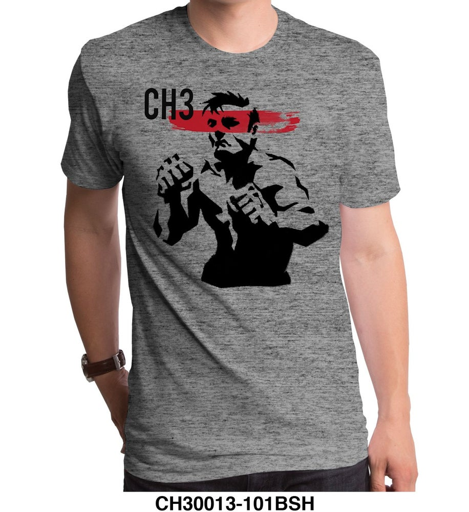 Image of CH3 Fighter Tee Gray
